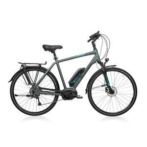E-Bike 28 Trekkingrad Riverside 500 Herren Performance Line 400Wh grau/blau