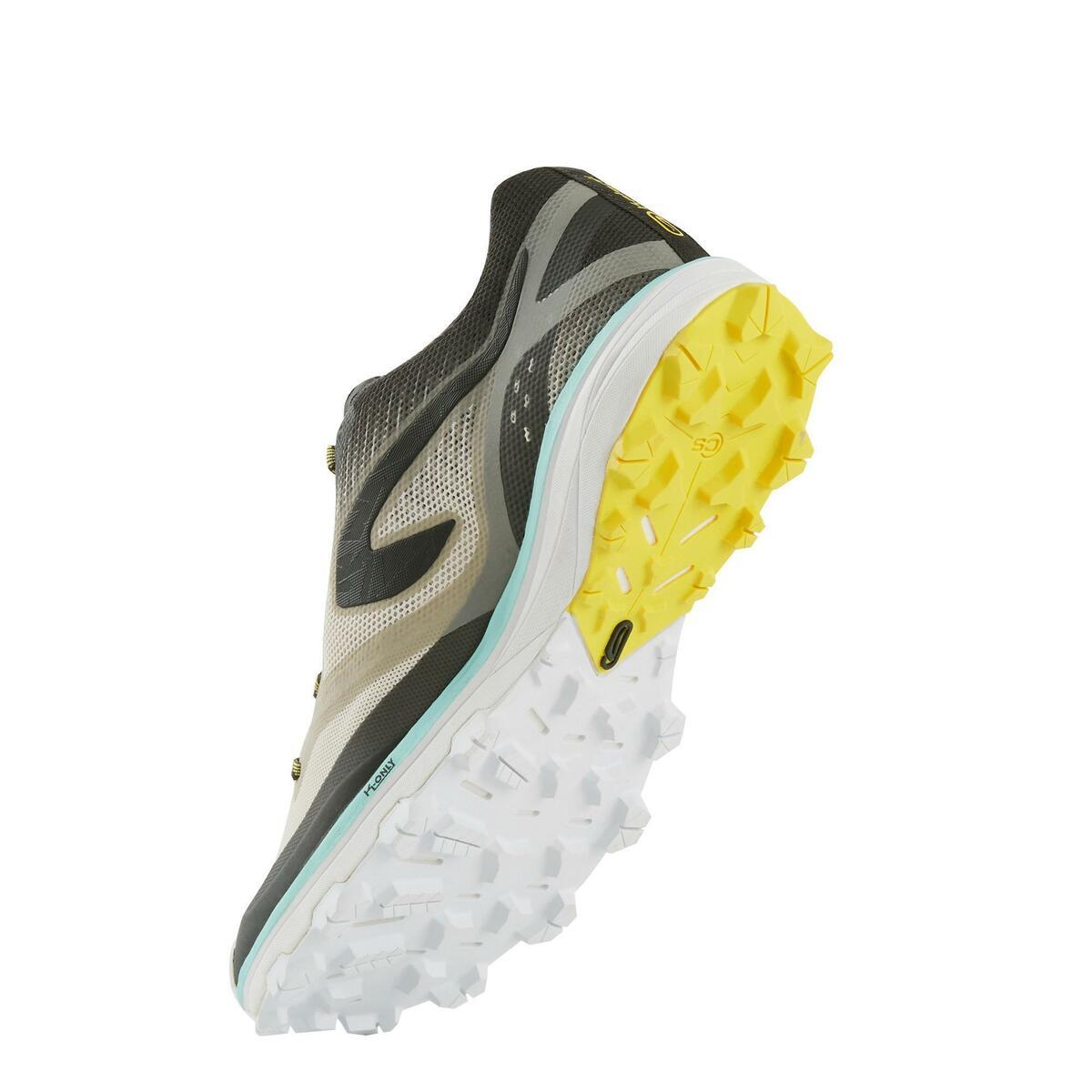 Bild 5 von Laufschuhe Trail Kiprun Race 4 Damen grau/gelb
