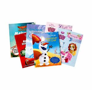 Sticker- und Malbücher