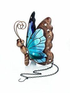 "Solar-Schmetterling ""Bella"", blau"