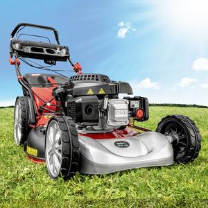Powertec Garden Benzin-Rasenmäher