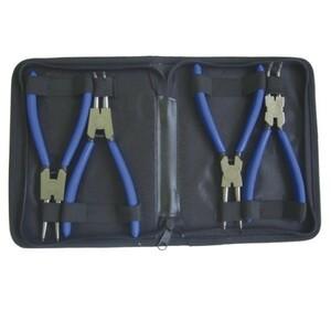 Normex Seegeringzangensatz 180mm 4tlg. Seegering Sprengring Zangensatz Zange