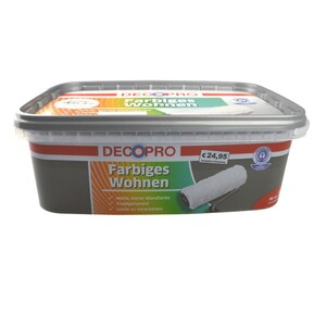 DecoPro Wandfarbe 2,5 Liter schiefer matt