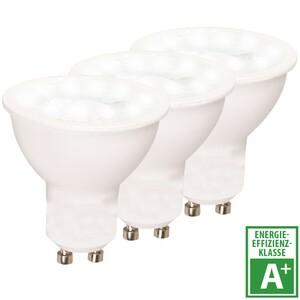 LED Reflektor Lampen 3 Stück 5 Watt mit GU10 Sockel und warmweißem Licht