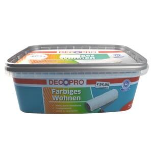 DecoPro Wandfarbe 2,5 Liter petrol matt