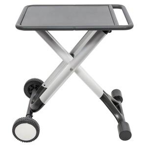 Grilltisch Quick-Klapp fahrbar aus Aluminium mit 50x58,5 cm Ablagefläche