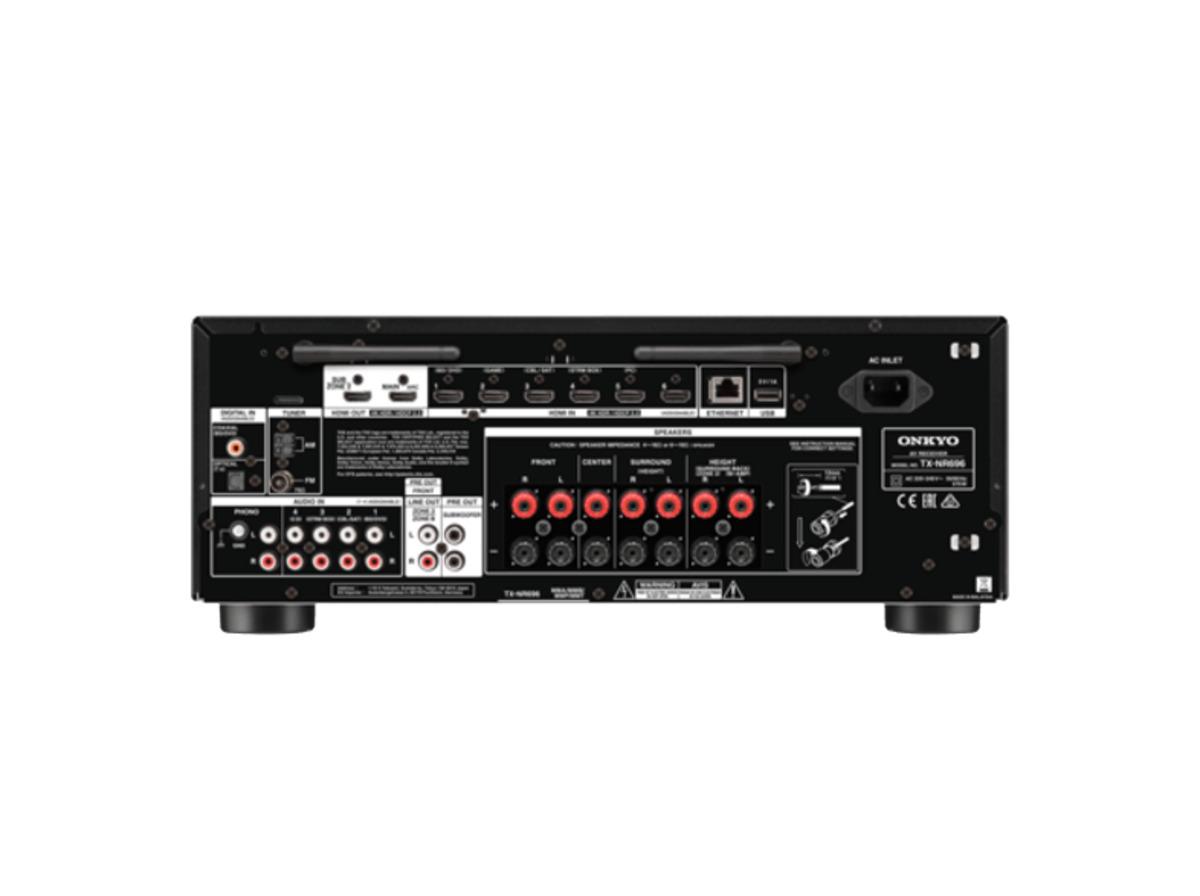 Bild 2 von ONKYO TX-NR 696, Netzwerk-AV-Receiver, Phono-Eingang, Schwarz