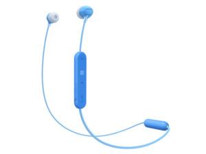 SONY WI-C300, In-ear, Bluetooth Kopfhörer, Blau