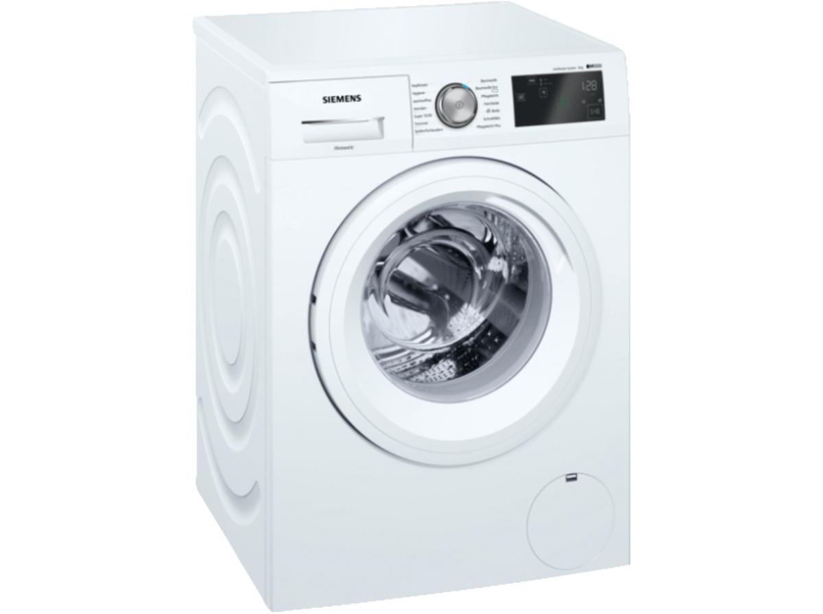 Bild 1 von SIEMENS WM14T5EM  Waschmaschine, 8 kg, Frontlader, 1379 U/Min., Weiß