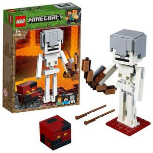LEGO Minecraft 21150 BigFig Skelett mit Magmawürfel