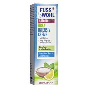 Fusswohl Urea Intensivcreme Meersalz Soforthilfe* 2.65 EUR/100 ml