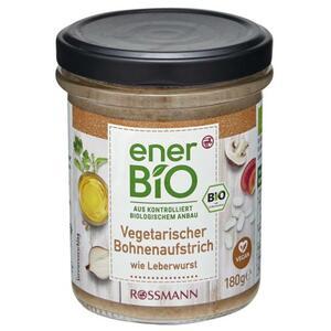 enerBiO Vegetarischer Bohnenaufstrich wie Leberwurst 1.11 EUR/100 g