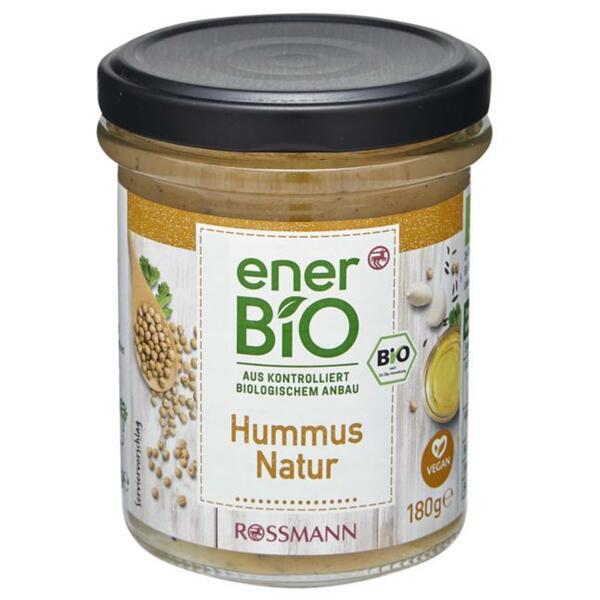 enerBiO Hummus Natur Aufstrich 1.05 EUR/100 g