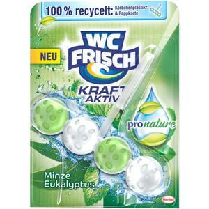WC FRISCH Kraft-Aktiv WC-Duftspüler Pro Nature Minze & 2.38 EUR/100 g