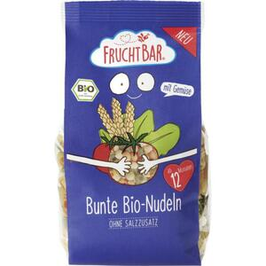 FruchtBar Bunte Bio-Nudeln Tomate Spinat 6.63 EUR/1 kg