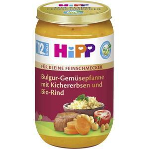 HiPP Bio Bulgur-Gemüsepfanne mit Kichererbsen und Bio-R 0.43 EUR/100 g (6 x 250.00g)