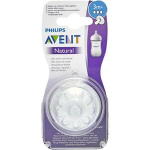 PHILIPS AVENT Natural Sauger 3m+