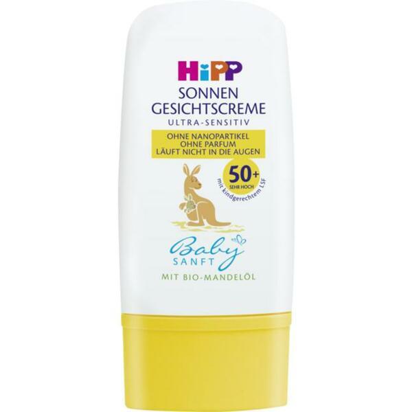 HiPP Sonnen Gesichtscreme LSF 50+ 14.97 EUR/100 ml