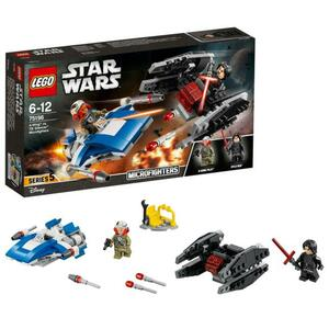 LEGO Star Wars 75196 DA-Wing vs. TIE Silencer Microfighters