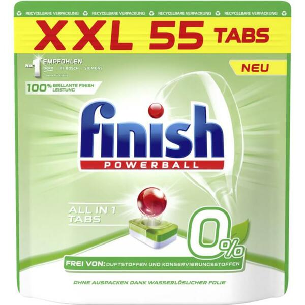 Finish Powerball All in 1 Tabs 0% XXL Pack 8.92 EUR/1 kg