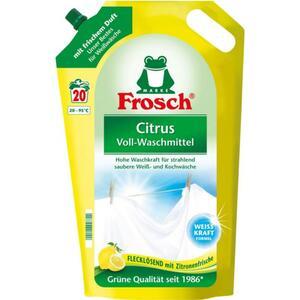 Frosch Citrus Voll-Waschmittel 20 WL 0.20 EUR/1 WL