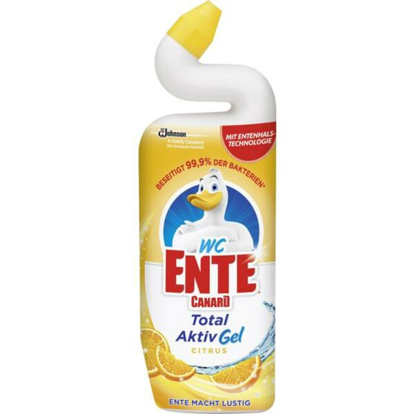 WC-Ente Total Aktiv Gel Citrus 2.25 EUR/1 l