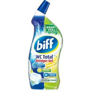 Biff WC Total Reiniger Gel spritzige Limone 2.65 EUR/1 l