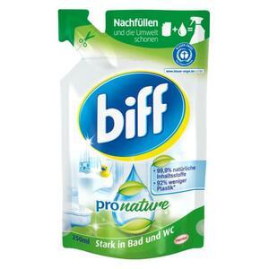 Biff Pro Nature Badreiniger Nachfüllbeutel 0.68 EUR/100 ml