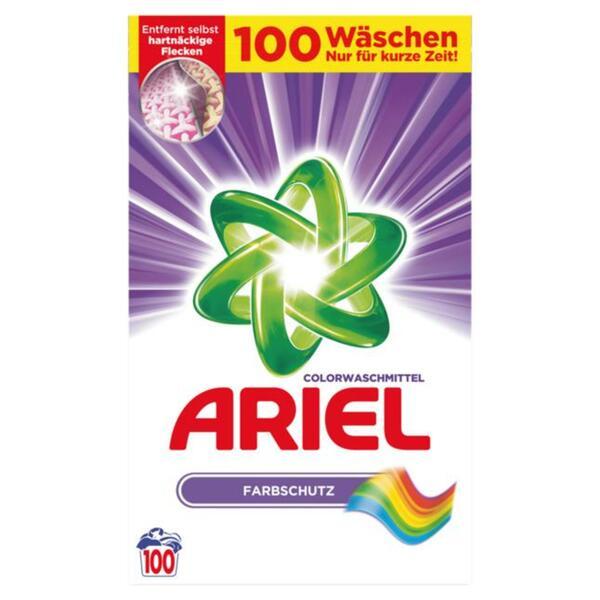 Ariel Colorwaschmittel Pulver 100 WL 0.20 EUR/1 WL