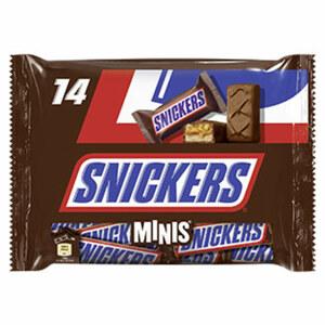 Snickers, Twix, Mars, Bounty oder Milky Way Minis jeder 275-g-Beutel