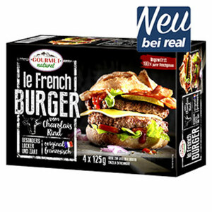 Gourmet Natural le French Burger gefroren, jede 500-g-Packung