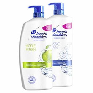 head & shoulders Antischuppen Shampoo jede 900-ml-Flasche, beim Kauf von mind. 2 Produkten im Wert von 25€