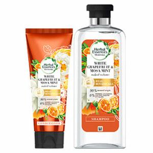 Herbal Essences Shampoo oder Spülung versch. Sorten jede 250/200-ml-Flasche, beim Kauf von mind. 2 Produkten im Wert von 25€