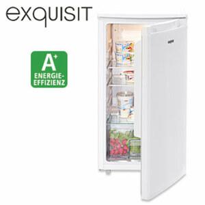 Kühlschrank KS 85-9 RV A+ · 82 Liter Nutzinhalt · Maße: H 84,5 x B 45,0 x T 45,0 cm · Energie-Effizienz A+ (Spektrum: A+++ bis D)