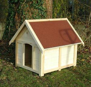 dobar Hundehütte für draußen, rot, Gr.XL