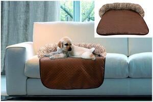 Heim Sofa-Schutz-Decke Gr.L / braun