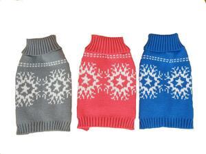 """Heim Pullover """"Schneeflocke"""" Gr.40 / blau"""