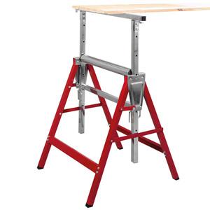 Kraft Werkzeuge 2in1 Arbeitsunterstell- und Rollenbock