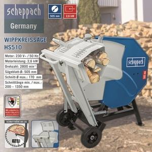 Scheppach Wippkreissäge HS510