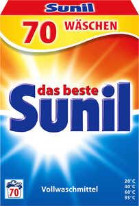 SUNIL  Voll- oder Color-Waschmittel