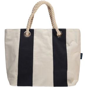 Strandtasche mit Blockstreifen 55x37x16cm