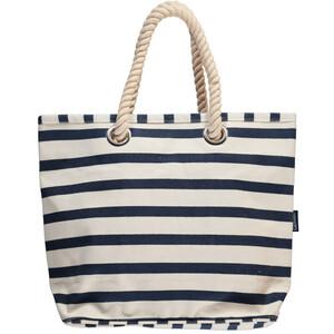 Strandtasche mit Streifen 51x38x16cm