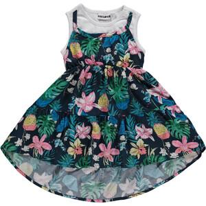 Mädchen Kleid im Allover Print