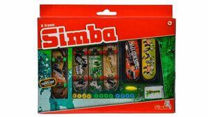 Simba - Xtreme Skatepark - Finger Skateboard Mega Set