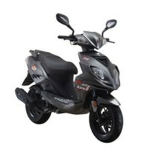 Explorer Speed 125 Motorroller 2018 grau, 90 km/h