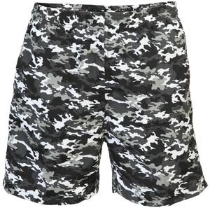Herren Badeshorts im Camouflage Look