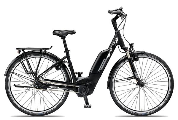 KTM MACINA CITY XL 5 2019 | 46 cm | black matt/white grey