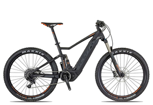 Scott E-Spark 730 2019 | 19 Zoll | anthracite/black/orange