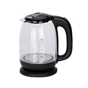 Tectro Glaswasserkocher WK 188 schwarz 1,7 Liter