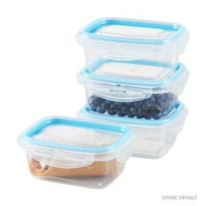 Frischhaltedosen-Set 4-teilig in blau